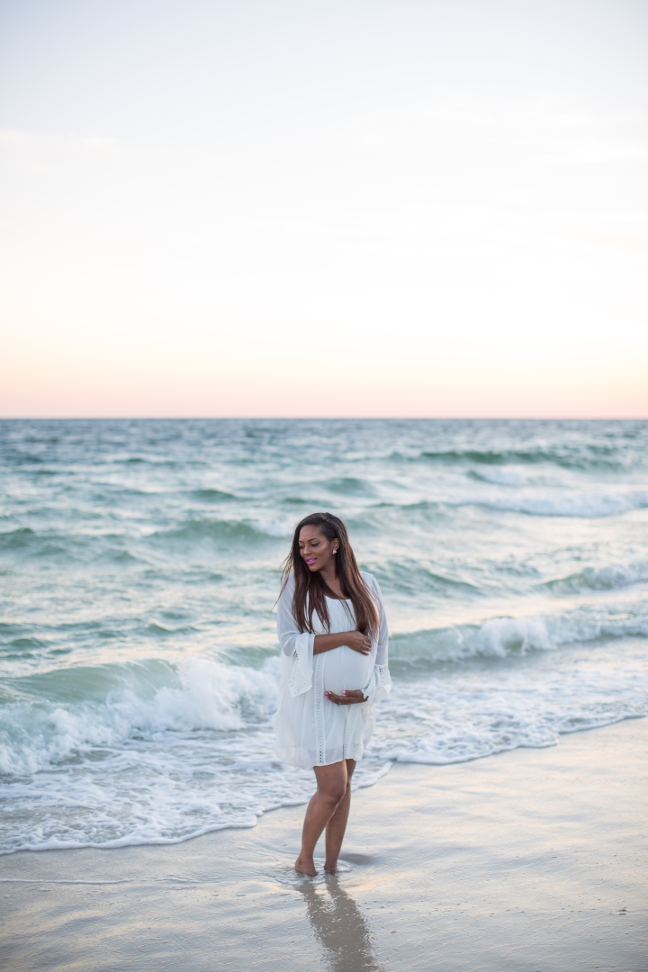 Kris Watson | An Orange Beach Maternity Session