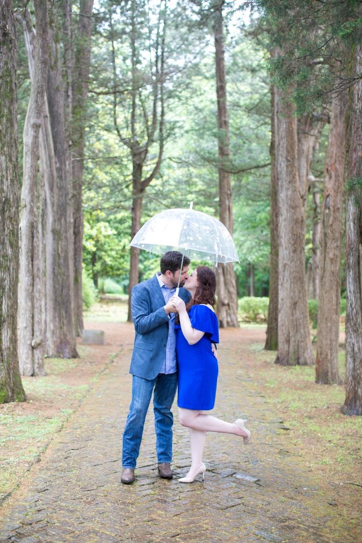 Lauren & Matt | A Spring Engagement Session in Oxford,Mississippi