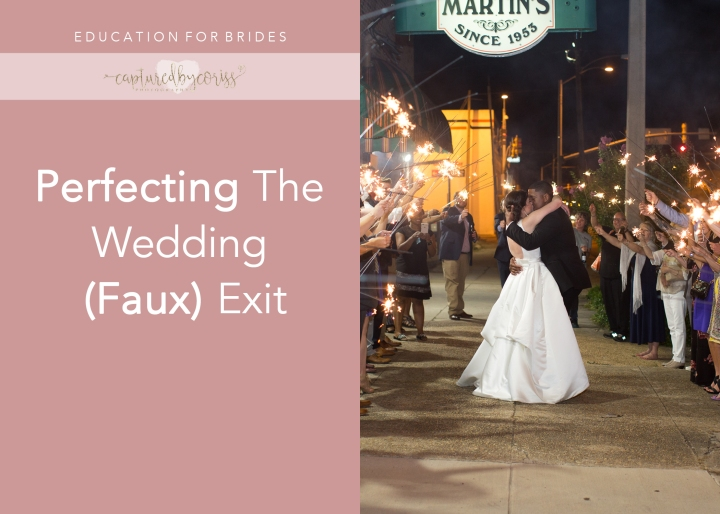 For Brides: Perfecting the Wedding (Faux) Exit