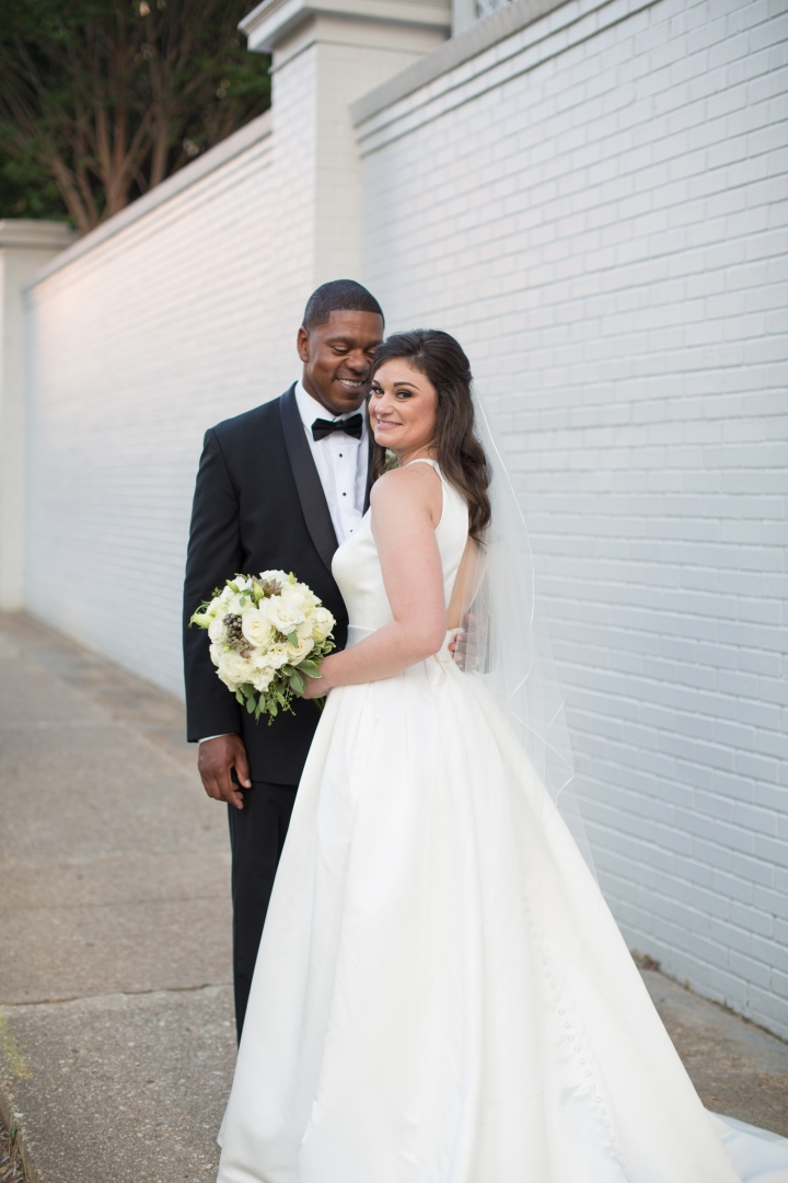 Mr. & Mrs. Gray | A Downtown Jackson Wedding