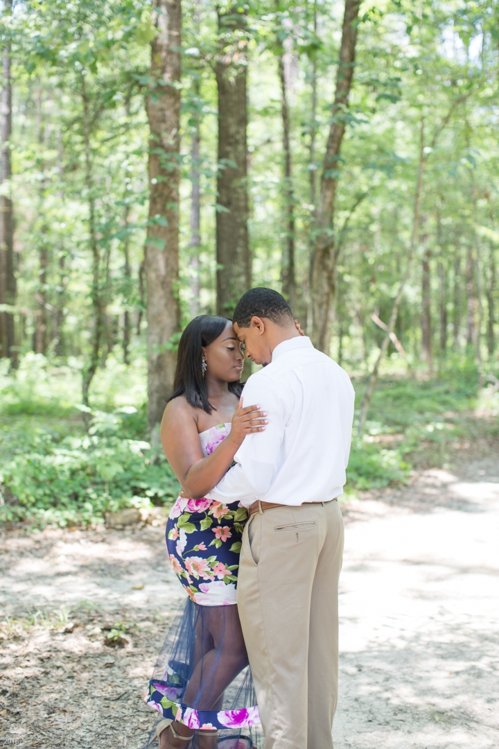 Bianca & Lashley | A Summer Engagement Session