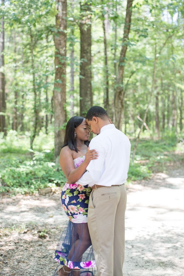 Bianca & Lashley | A Summer EngagementSession
