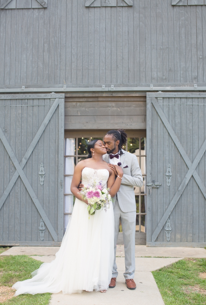 Mr. & Mrs. Stallworth | A Summer Wedding at The Cotton Market Venue