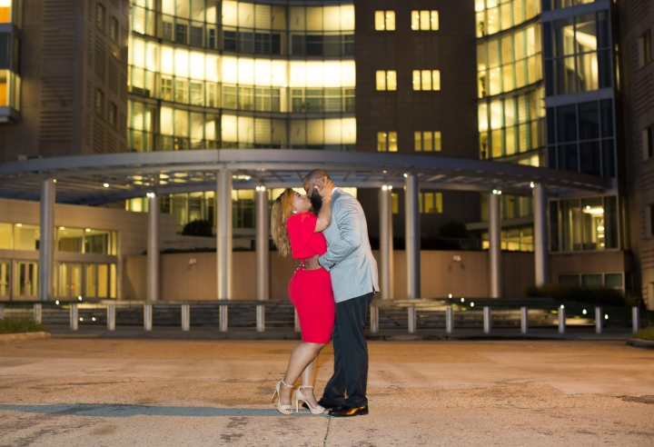 Jennifer & Roy | A Downtown Engagement Session in Jackson, MS