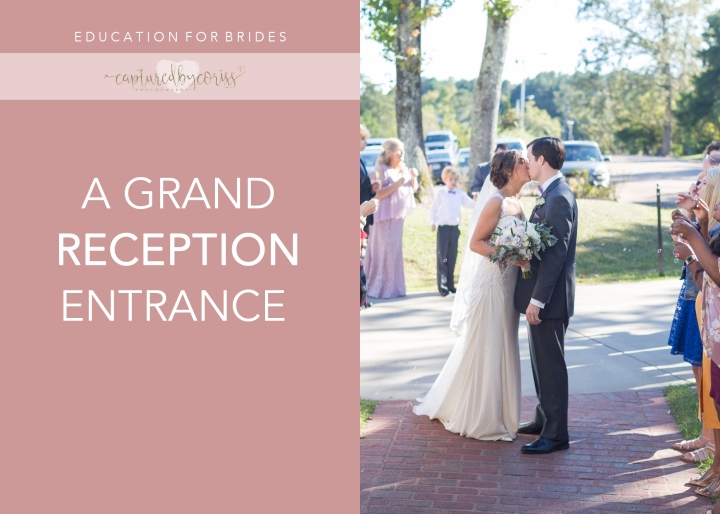 For Brides: A Grand Reception Entrance