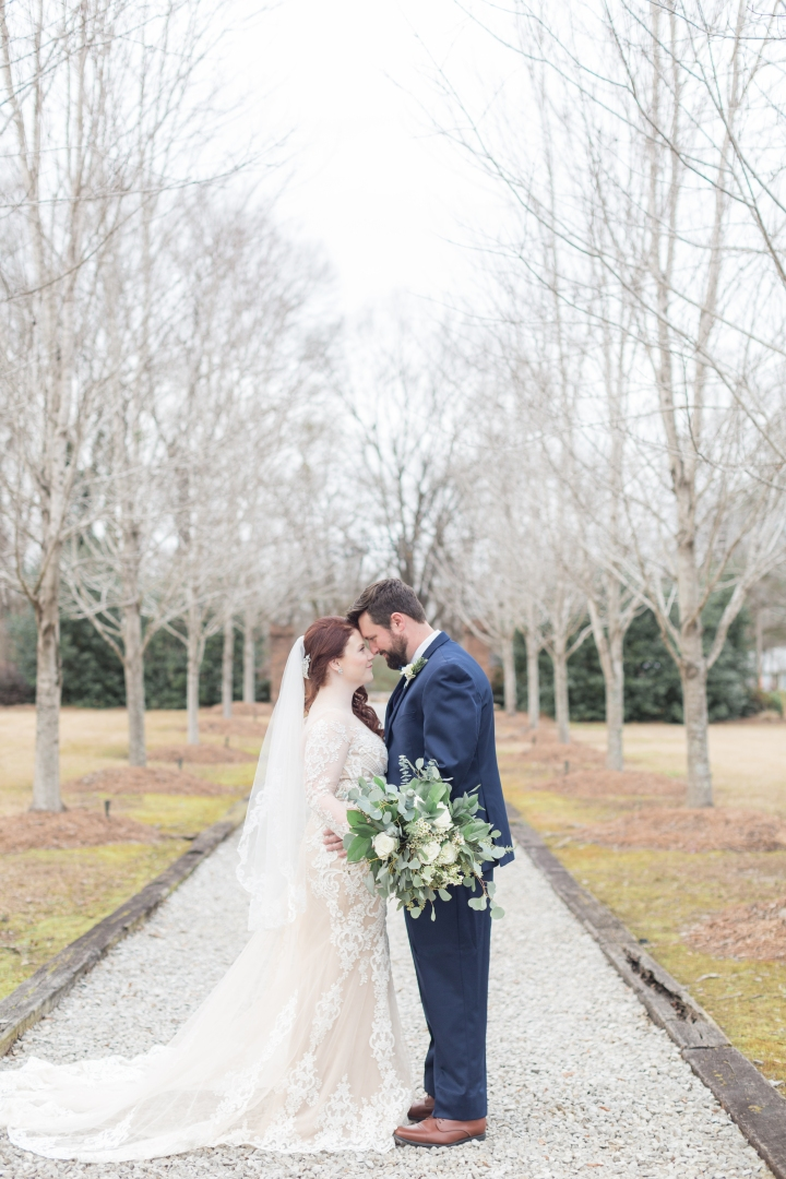 Mr. & Mrs. McClintock | A Fabulous Winter Wedding at The Mill at Plein Air