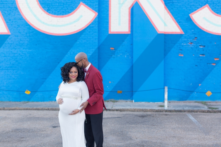 Jianwen & Cedric | A Downtown Jackson Maternity Session