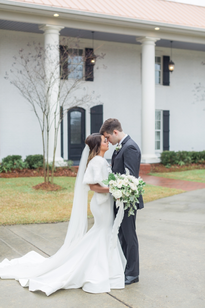 Shelby & Caleb | A Lovely Winter Wedding at The Ivy Venue in Flowood, MS