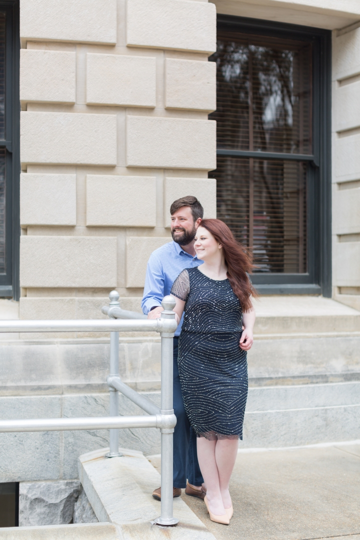 Matthew & Lauren | A Sweet Couple's Session In Downtown Jackson