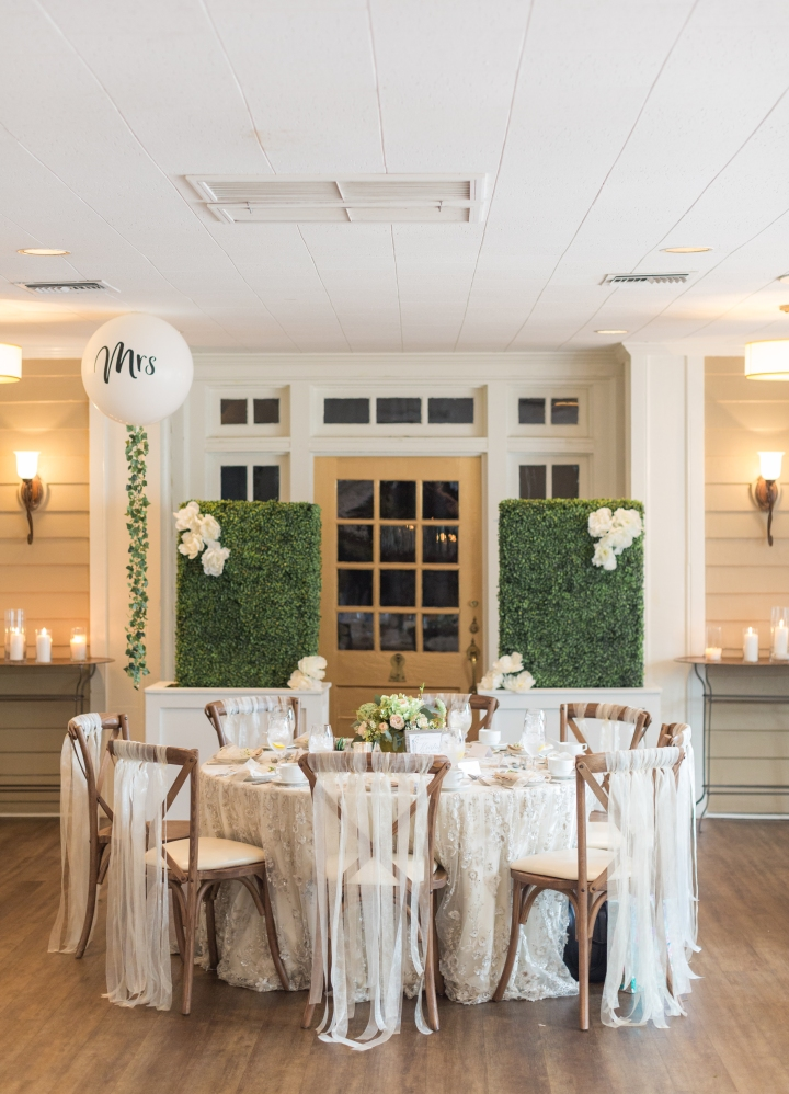 A Chic Garden Inspired Bridal Shower at Fairview Inn