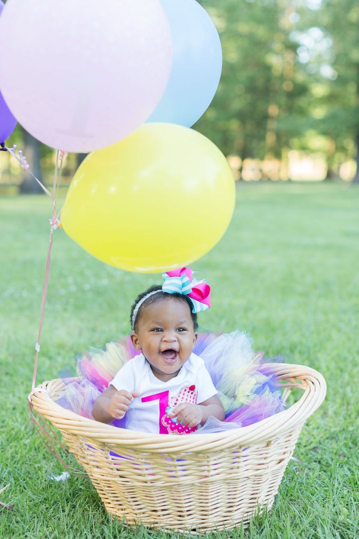 Baby Journee | A Vibrant 1 Year Session