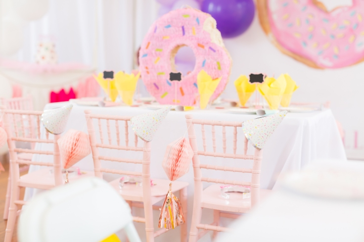The Sweetest Donut Filled Birthday Party