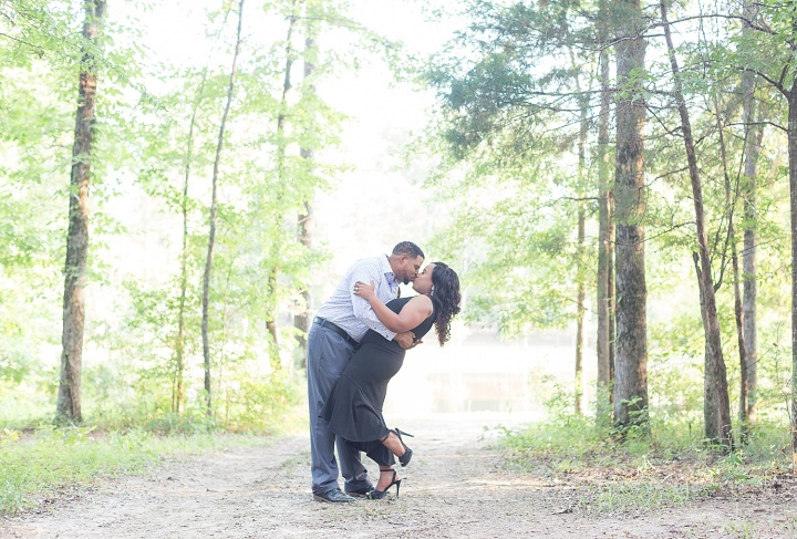 Constance & Rodney | A Lovely Summer Engagement Session at Flowood Nature Park