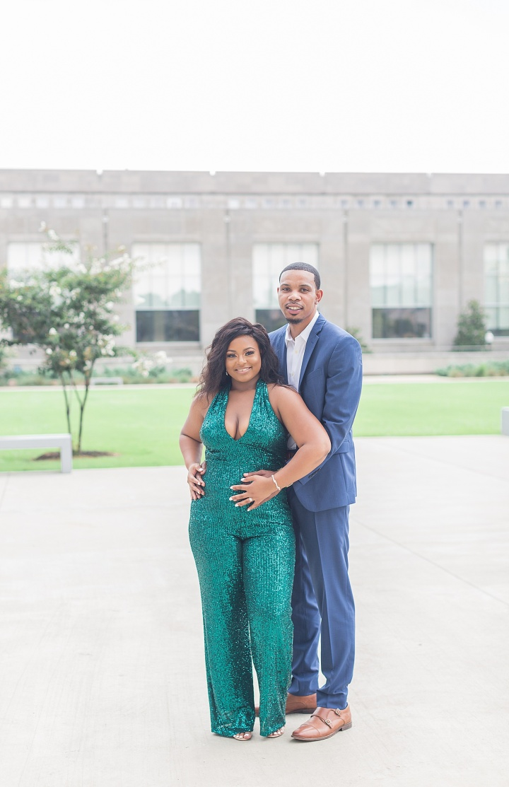 Taylor & Roderick | A Summer Engagement Session at The King Edward Hotel & The Mississippi Civil Rights Museum