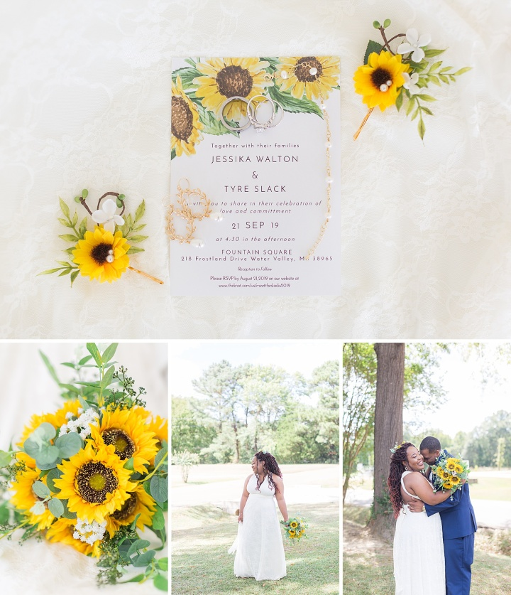 Mr. & Mrs. Slack | A Summer Wedding at The Fountain Square Venue in Water Valley