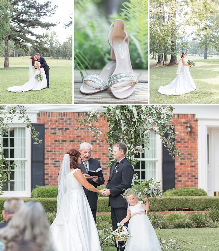 Mr. & Mrs. Hood | An Outdoor Summer Wedding in Calhoun, MS