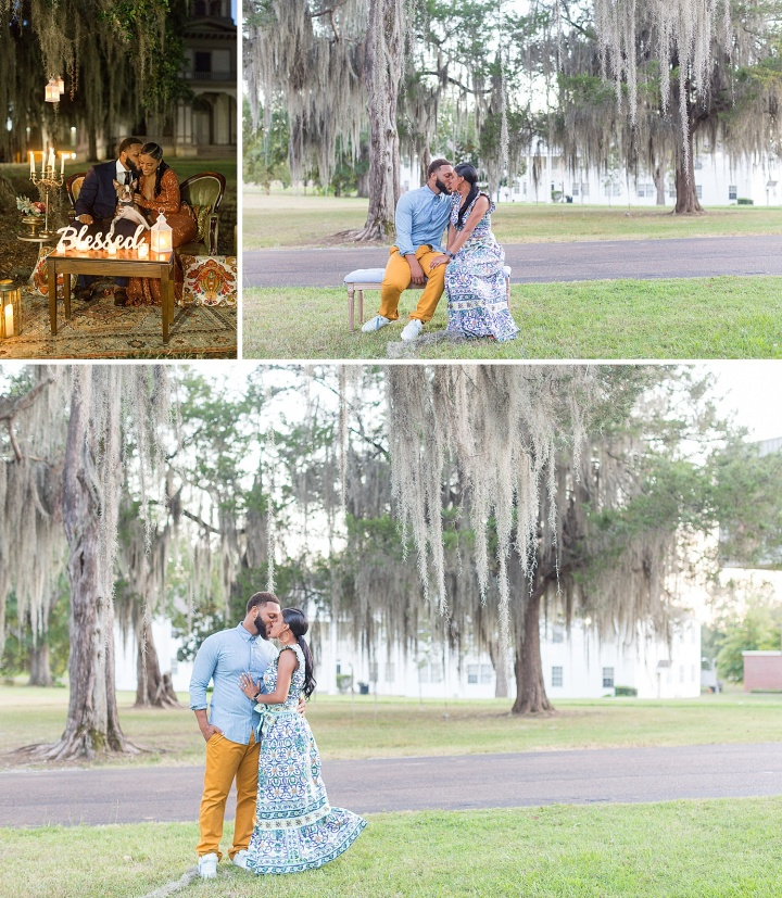 Haleigh & Saleem | A Stylish Engagement Session at Tougaloo College