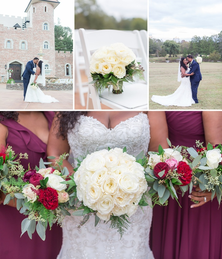 Constance & Rodney | A Gorgeous Fall Wedding at Pierce Castle