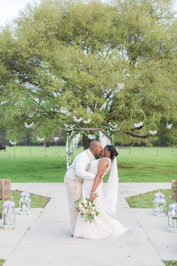 Aleia & Seth | A Rustic Glam Wedding at The Barn at Love Farms | Kiln, Mississippi