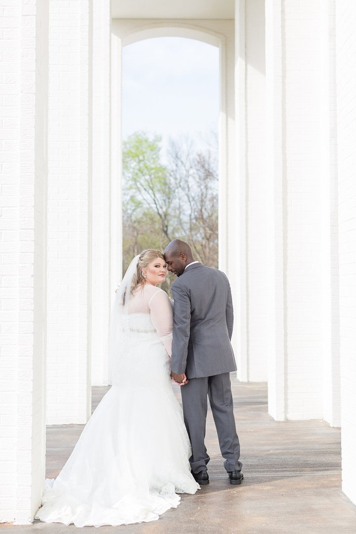 Rena & Terry | A Beautiful Spring Wedding at The Vault Venue | Brandon, Mississippi