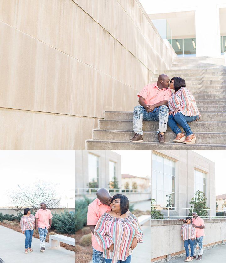 Delvian & Gary | Engagement Session | Mississippi Civil Rights Museum