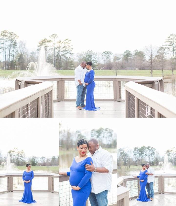 Latarsha & James | Maternity Session | Flowood Nature Park
