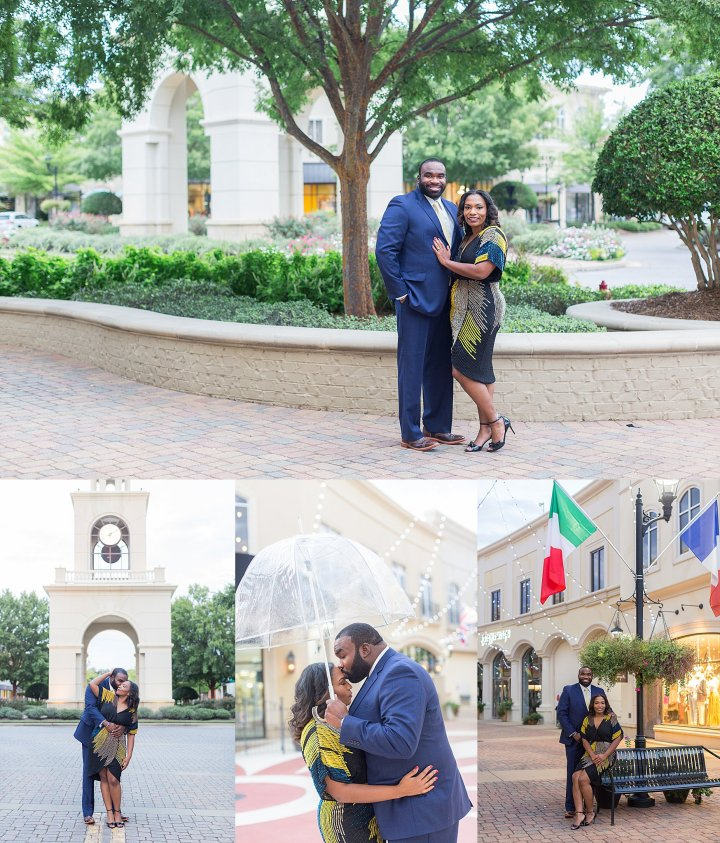 Keila & Ken | Engagement Session | The Renaissance in Ridgeland, Mississippi