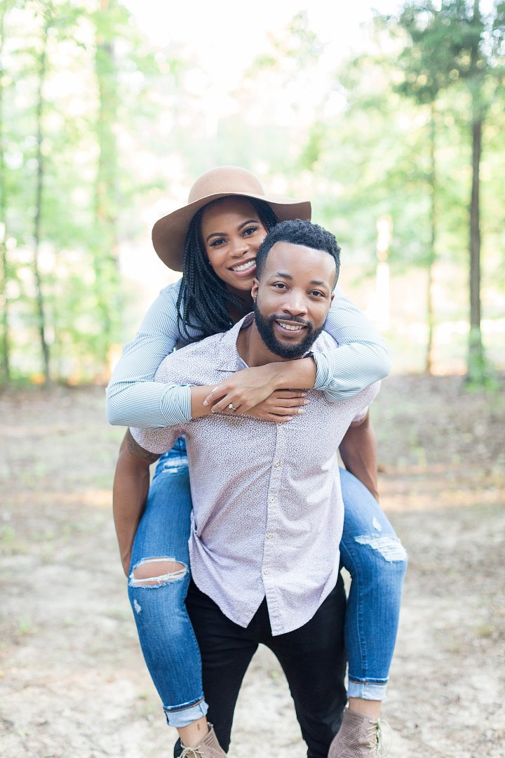 Joslyn & Ronnie | A Beautiful Nature Inspired Engagement Session