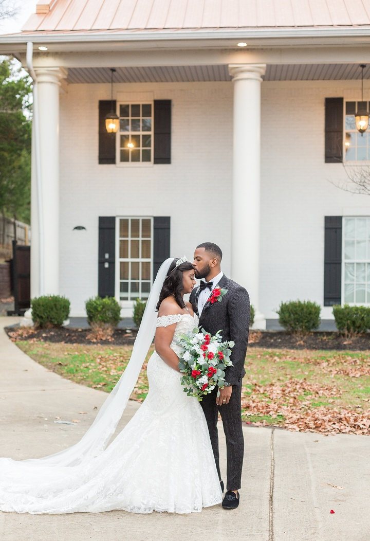 Kristen & Steve | A Winter Wedding at the Ivy Venue in Flowood, Mississippi